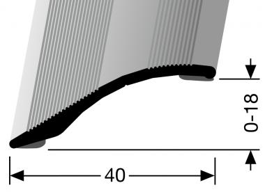 Küberit® Typ 247 SK, Alu Bronze, selbstklebend