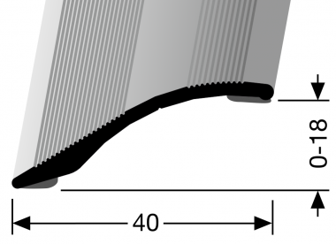 Küberit® Typ 247 SK, Alu Silber, selbstklebend