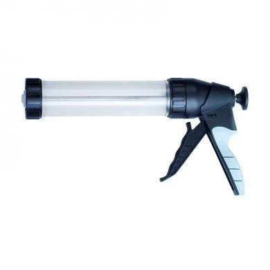 Handpresspistole mit transparentem Zylinder 400ml
