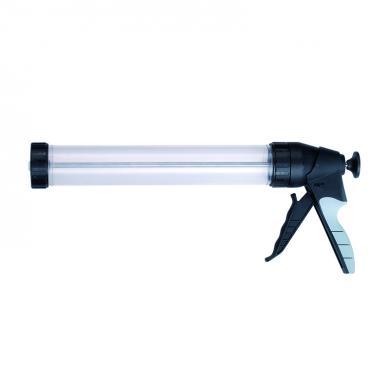 Handpresspistole mit transparentem Zylinder 600ml