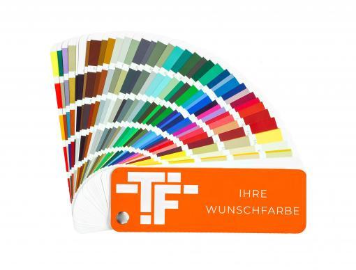 TF-Wohnen Massivholzleiste, Modell Hamburger Profil 58mm, RAL lackiert